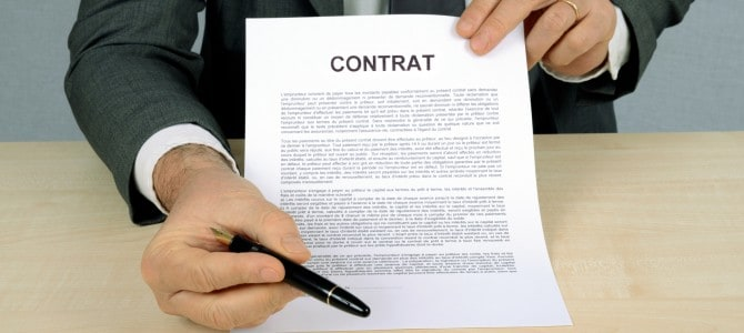 Is an unsigned contract enforceable?